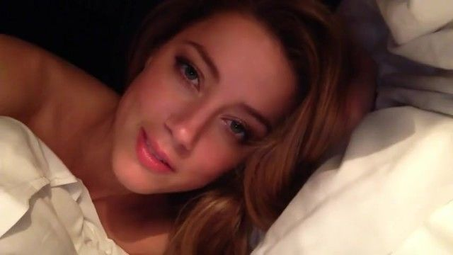 100 real: celebrity amber heard bare clip