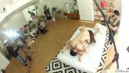 Jav milf chisato shouda foreplay whilst real dilettante wives see behind the scenes