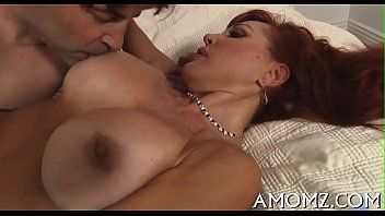 Sexy mama acquires fun of dick