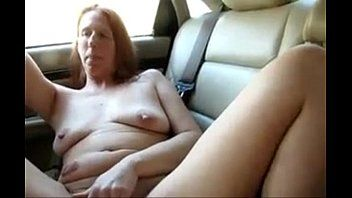 4573494 saggy aged car masturbation