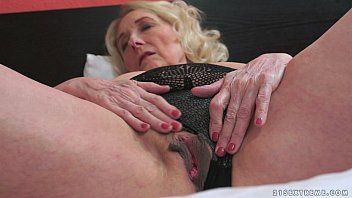 Lustful granny and her younger paramour