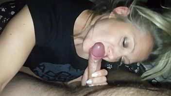 Hanysy sexy 43 year old milf is doing a blow job cum in throat