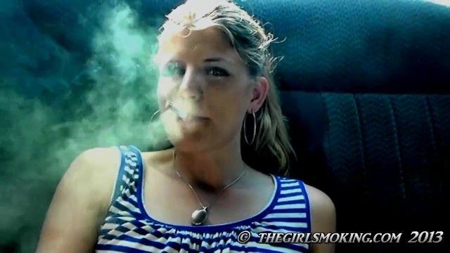 Free gal smokin cigarette movie scene marlboro red 100-thegirlsmoking.