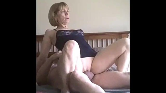 Sexually excited blond aged fuck on our date