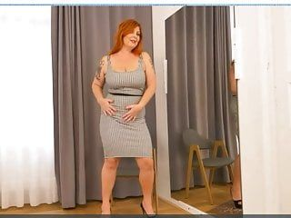 Tammy jean undress for the mirror is slutty and pleasant