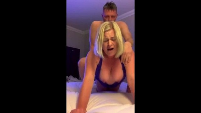 Breasty blond cumming truly hard jointly
