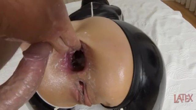 Balls unfathomable anal pumping shlong and balls in anus