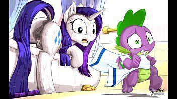 MLP Porn Rarity Pony My Little Pony Clop Ponies Tentacle Fur Sex Sex Compilation del fumetto