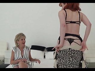 Lady sonia in hawt lesbo sex with milf red xxx