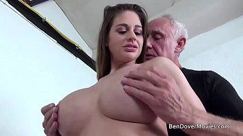 Cathy heaven pumping with older man ben dover