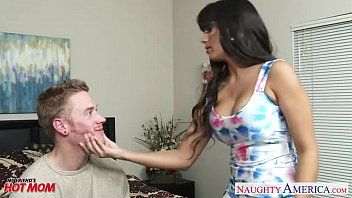 Fake titted mommy mercedes carrera fuck a hard ramrod