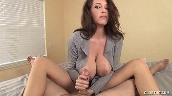 Breasty milf astonishing oral stimulation