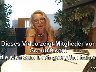 German female milf teacher train lascivious juvenile man to fuck