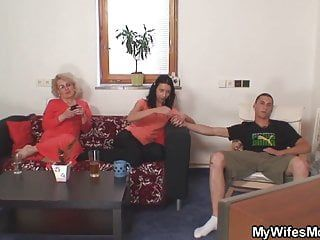 That guy is banging old not mother inlaw