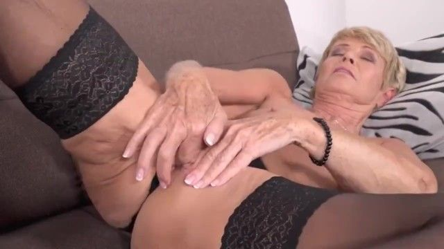 Old slender grandma want to fuck